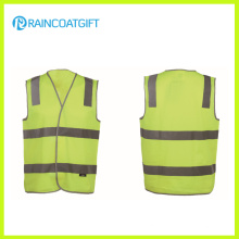 Fluorescence Men′s 100% Knitting Safety Vest